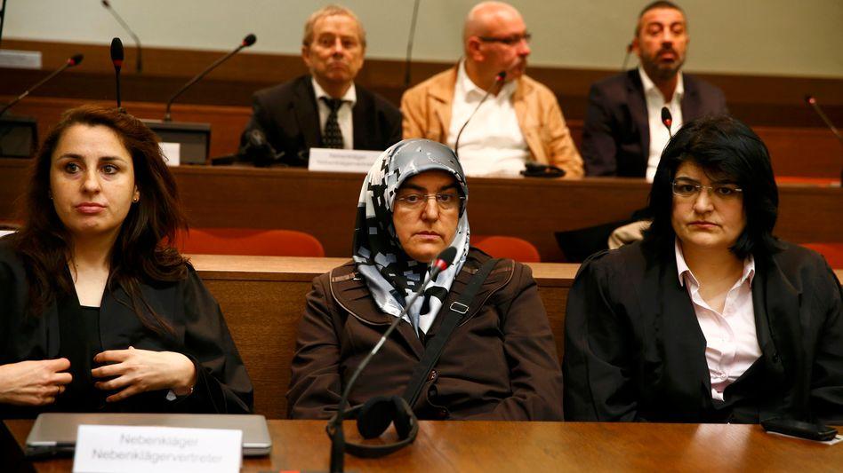Familie des NSU-Opfers Enver Simsek (Archivbild)