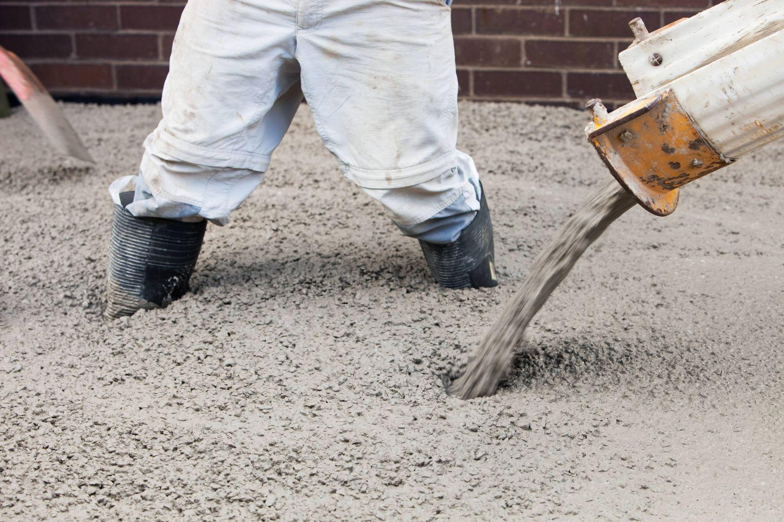 EINMALIGE VERWENDUNG Zement/ Beton