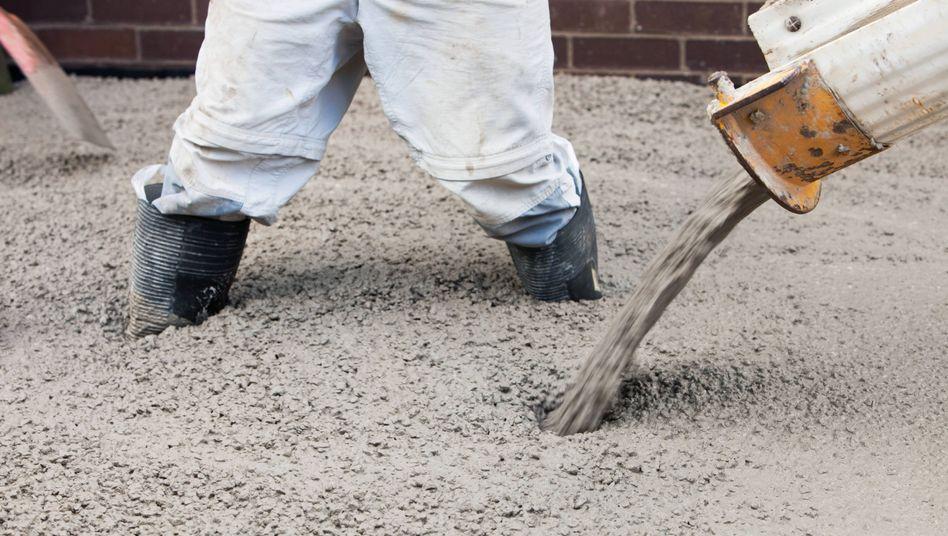 Einsatz von Zement in der Baubranche