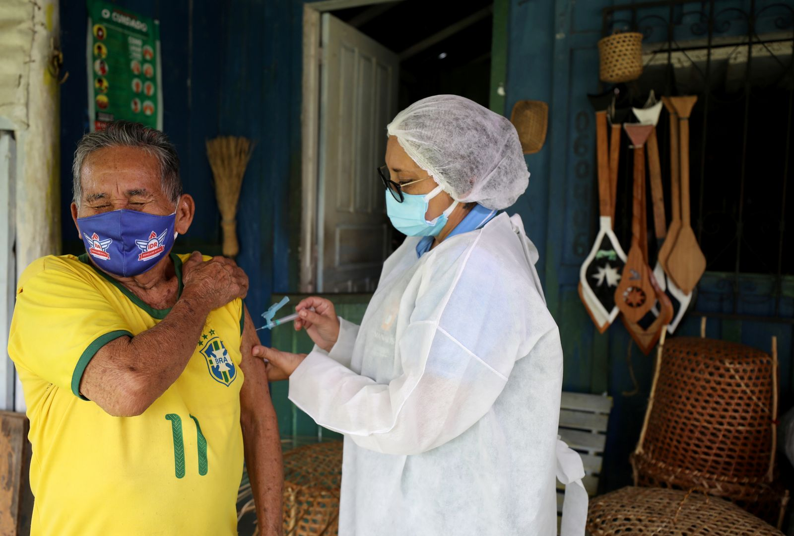 Outbreak of the coronavirus disease (COVID-19) in Amazon