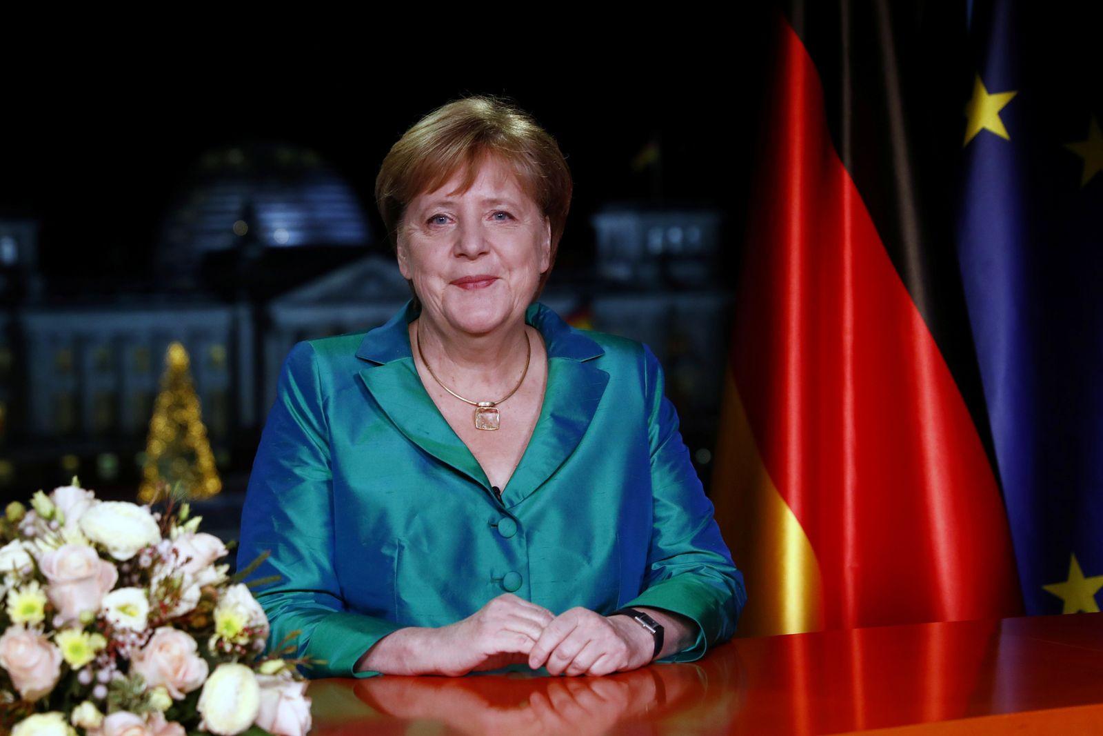 Merkel / Merkel Neujahrsansprache