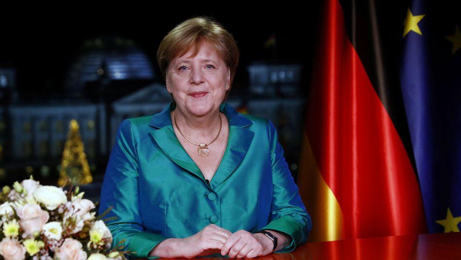 Merkels Neujahrsbotschaft: Was immer sie konkret meinen könnte