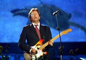 Gitarrist Clapton: Schüchtern und sensibel