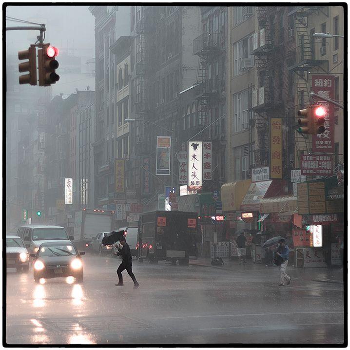 Ausgangsbild: Chinatown in New York