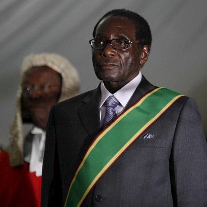 Simbabwes Machthaber Mugabe: Amtseid nach Wahlfarce
