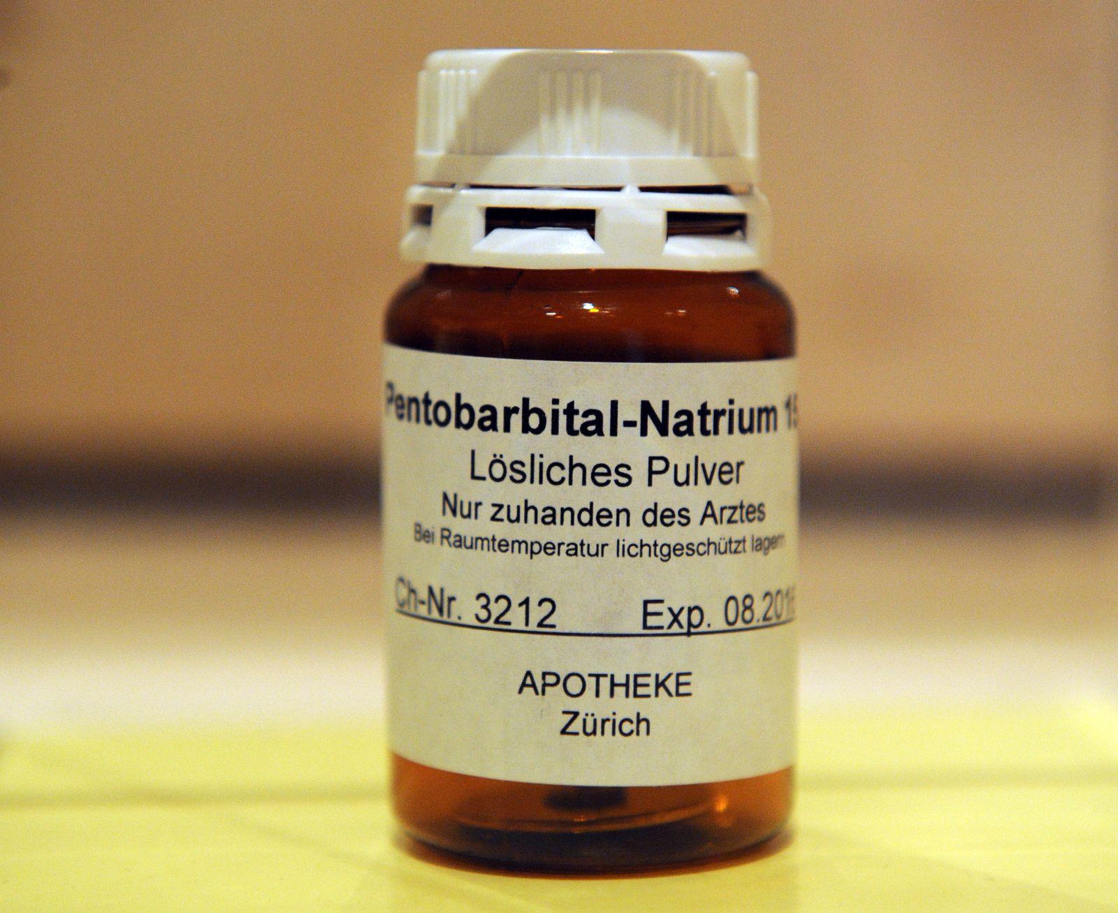 Sterbehilfe/ Natrium Pentobarbital