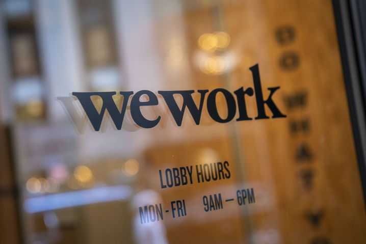 WeWork-Office im New Yorker Financial District
