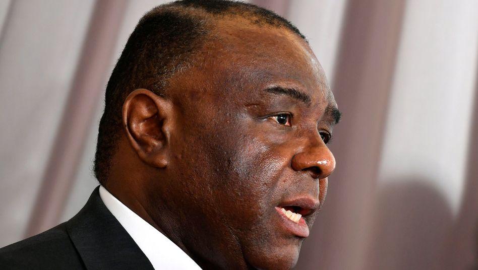 Jean-Pierre Bemba ist ehemaliger Vizepräsident der Demokratischen Republik Kongo.