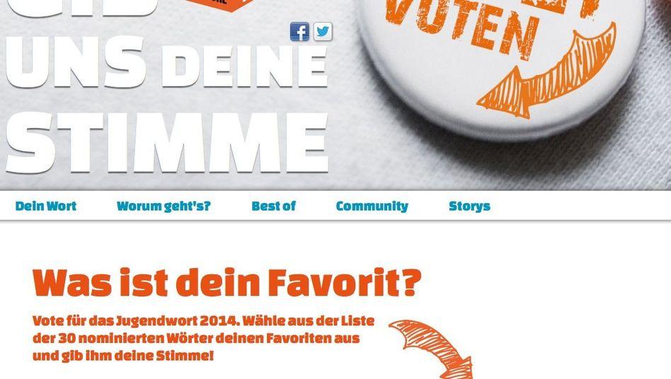 Suche nach dem Jugendwort des Jahres: Abstimmung manipuliert