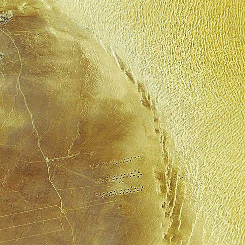 Bewässerungsanlagen in Libyen: Uraltes Grundwasser für Städte und Felder