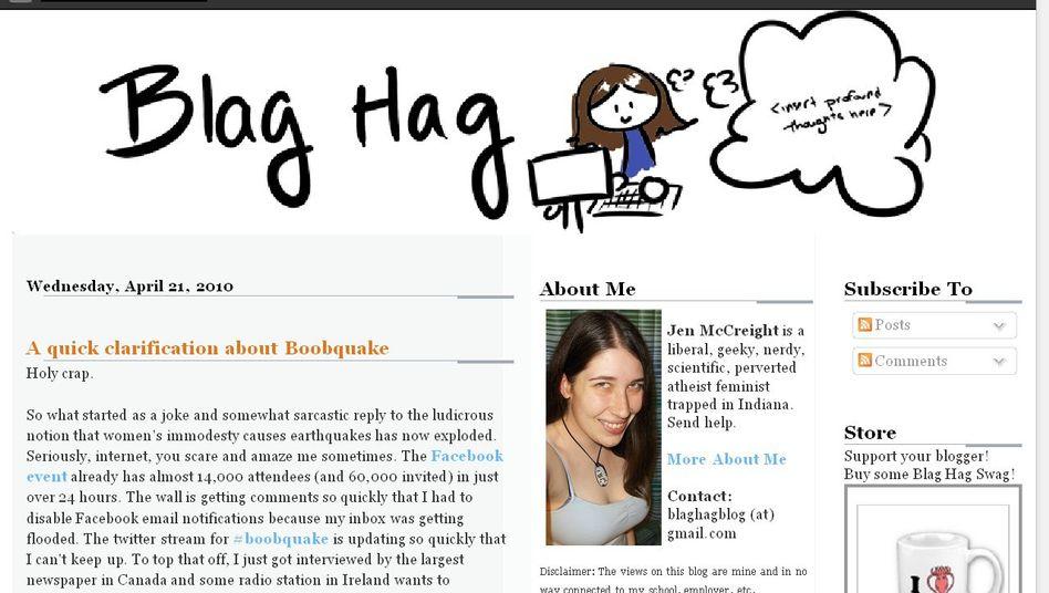 Bloggerin Jen McCreight: Versehentlich weltweite Protestbewegung gegründet