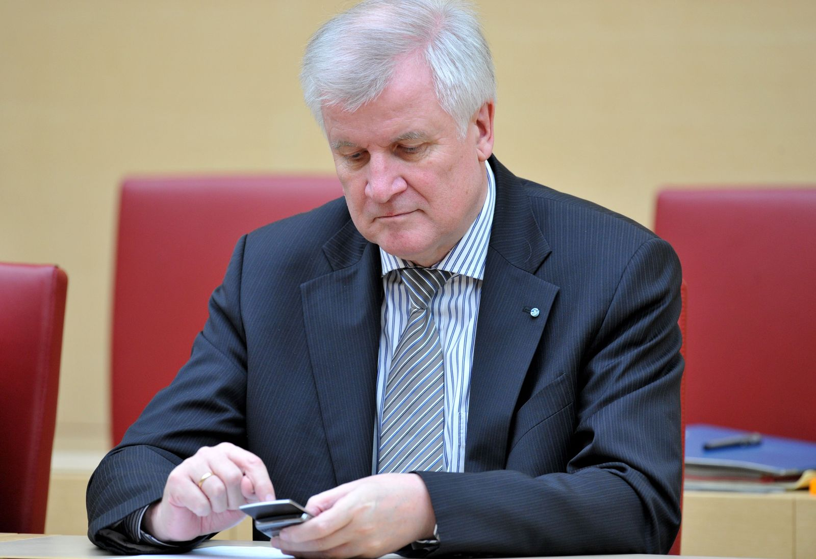 Seehofer / Handy