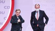 Merz ruft CDU-Delegierte zur Wahl von Laschet auf