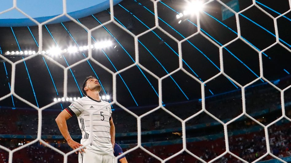 Mats Hummels unterlief ein Eigentor beim EM-Auftakt gegen Frankreich