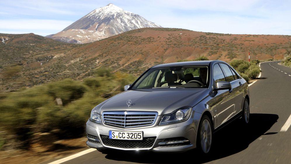 Mercedes' neue C-Klasse: Schöneres Ambiente, mehr Elektronik