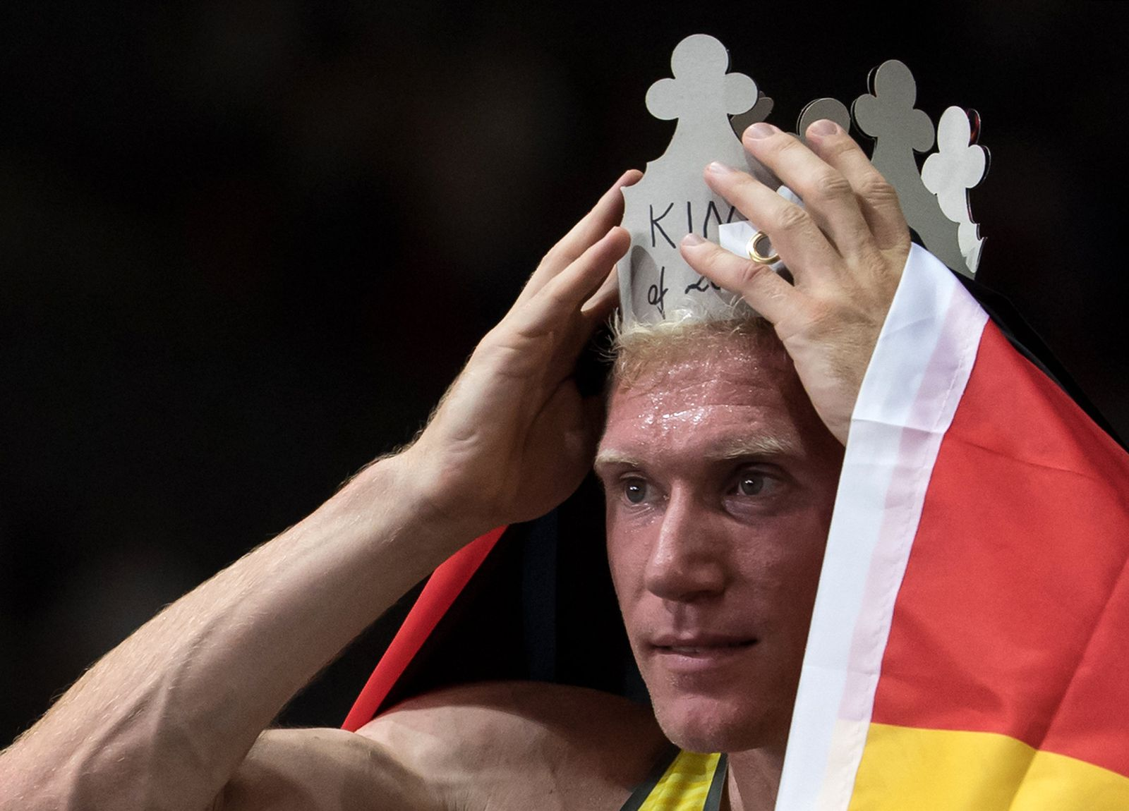 Arthur Abele/ Gold 2018 Europameisterschaft