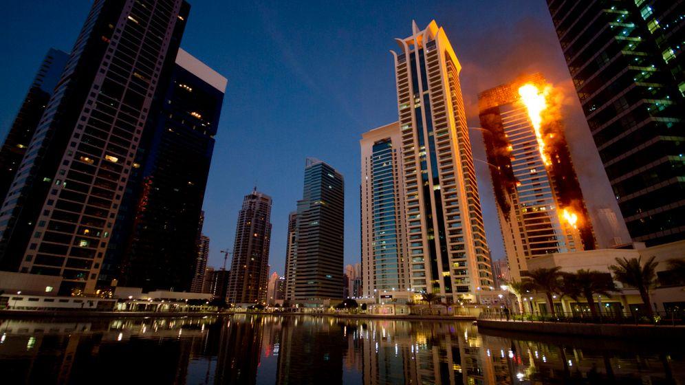 Dubai: Flammendes Inferno in Jumeirah