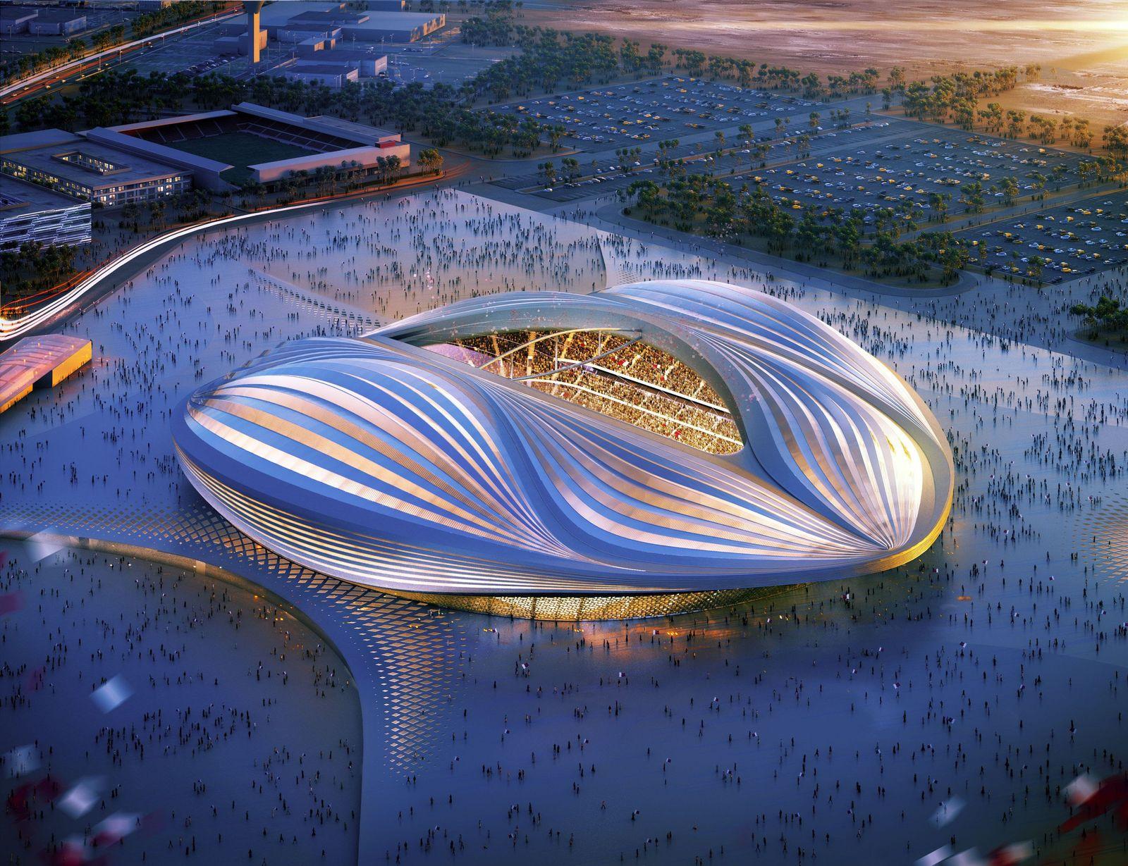 Katar / WM-Stadion / Computer-Rednering