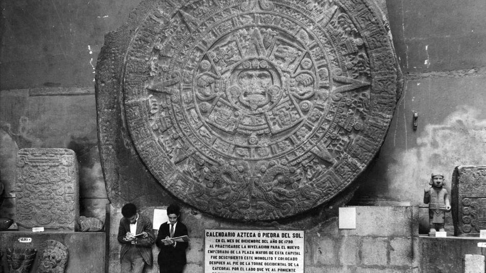 Azteken-Lalender in Mexiko