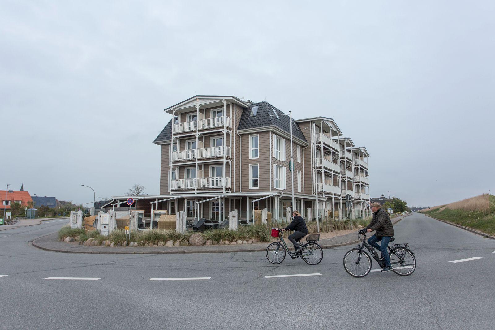 Hotelöffnungen in St. Peter-Ording.