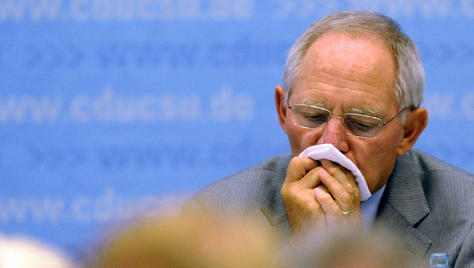 Wolfgang Schäuble: Der Finanzminister will den Haushalt in Ordnung bringen