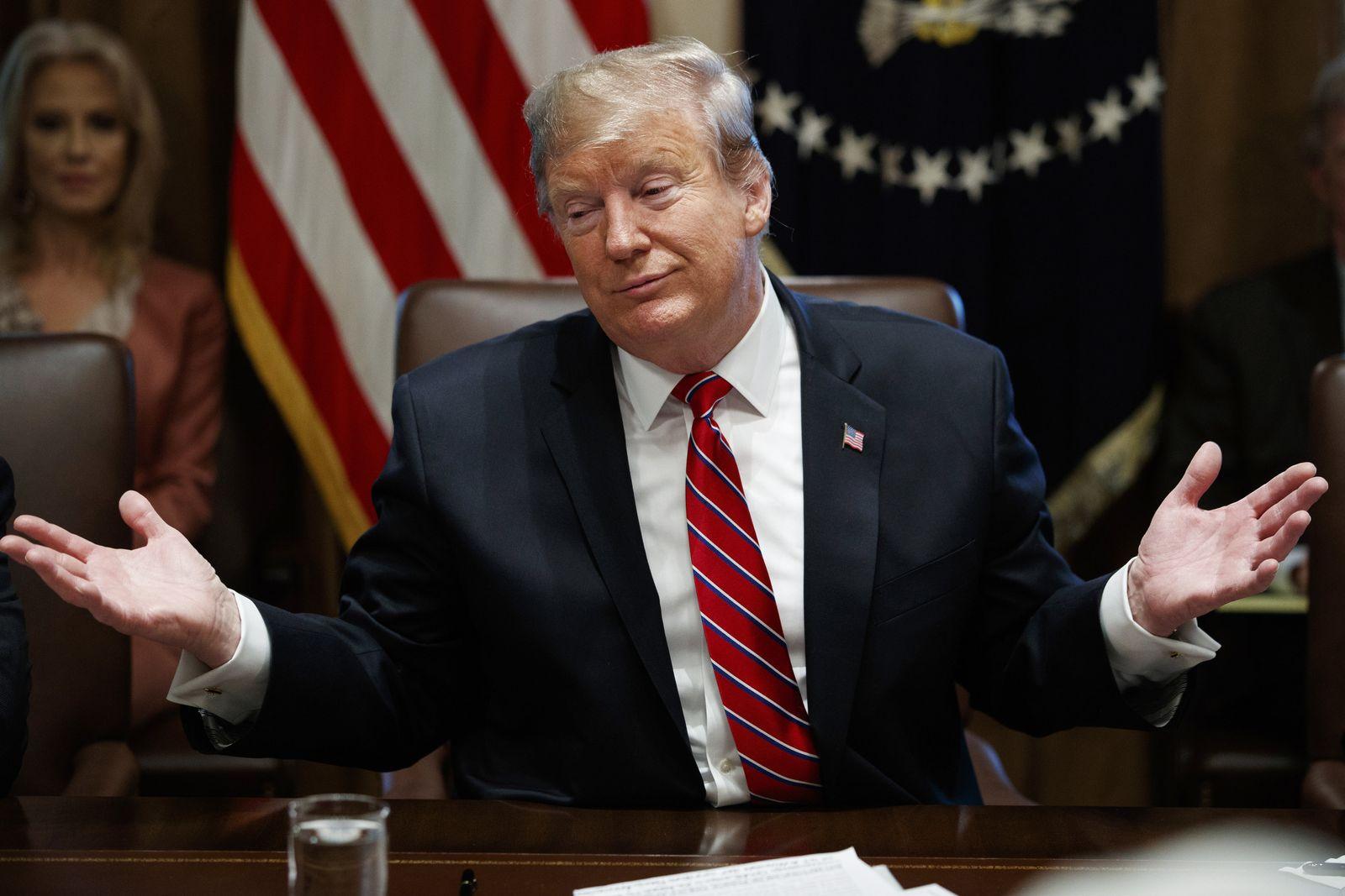 Kabinettssitzung im Weißen Haus