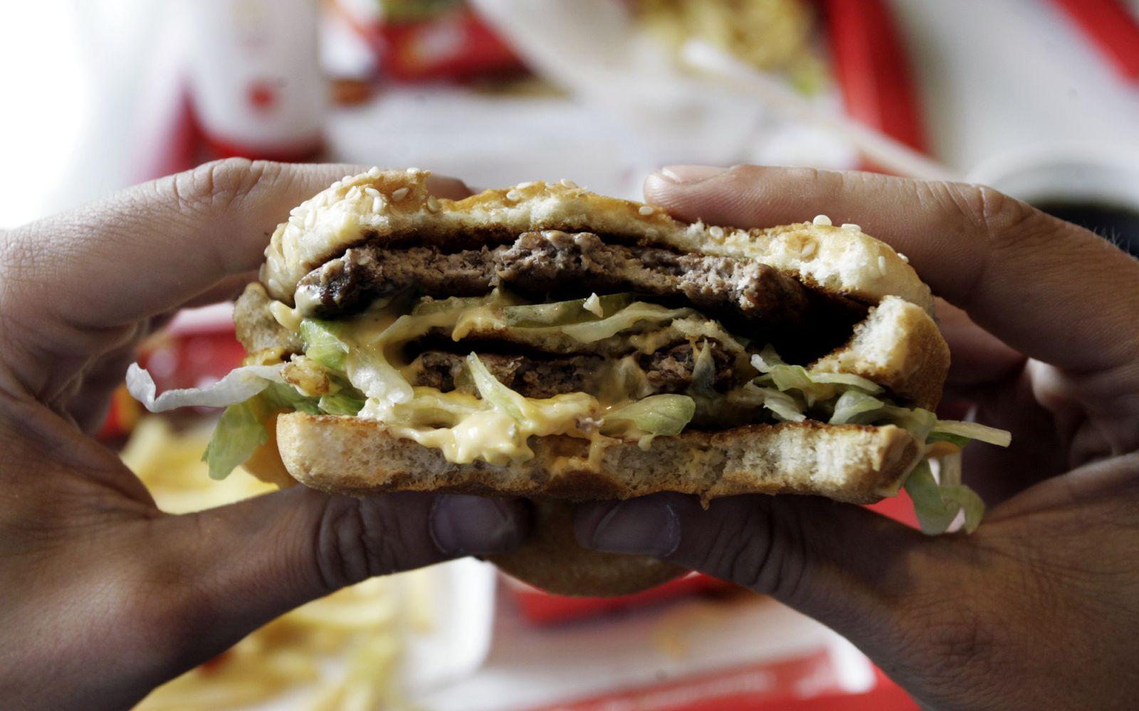 NICHT VERWENDEN Fast Food / Burger / Fett