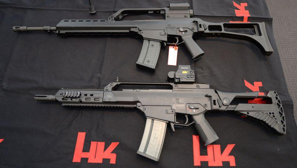 G36-Sturmgewehre von Heckler und Koch