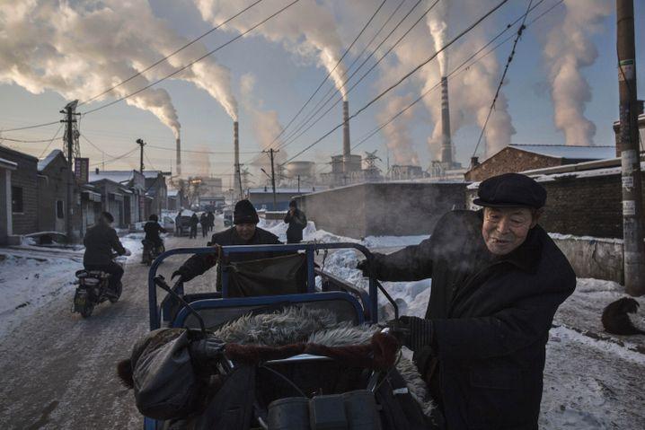 Kohlekraftanlage in Shanxi, China. Dies Foto wurde gerade mit dem World Picture Award in der Kategorie Daily ausgezeichnet.