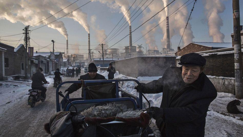 Kohlekraftwerk in Shanxi: China stellt sich bei Klimaverhandlungen quer