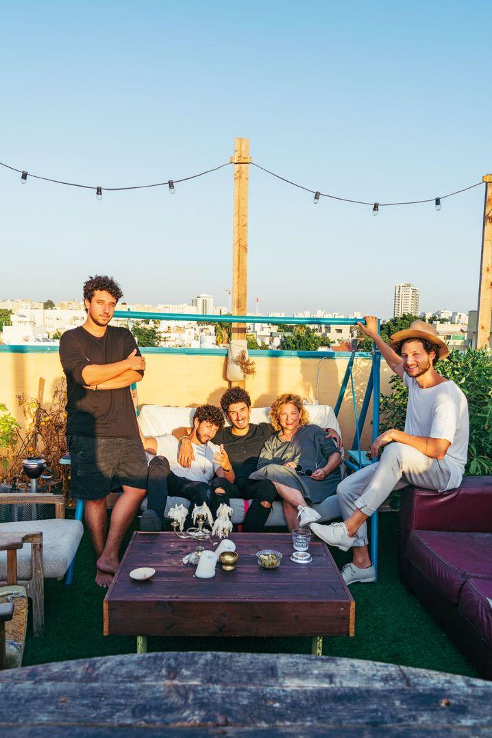 Haya Molcho und ihre Söhne: Zwei Wochen Recherche in Tel Aviv