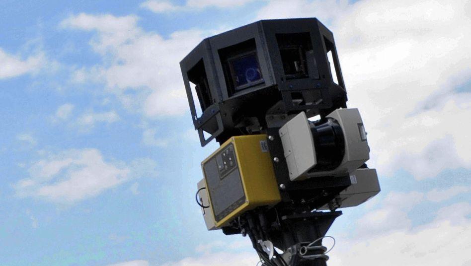 Street-View-Kamera: Politiker bemängeln Google, tun aber wenig für den Datenschutz