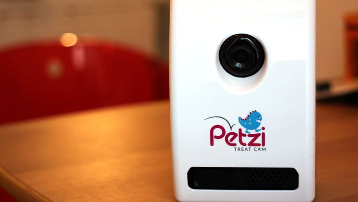 Haustierkamera im Test: Petzi Treat Cam
