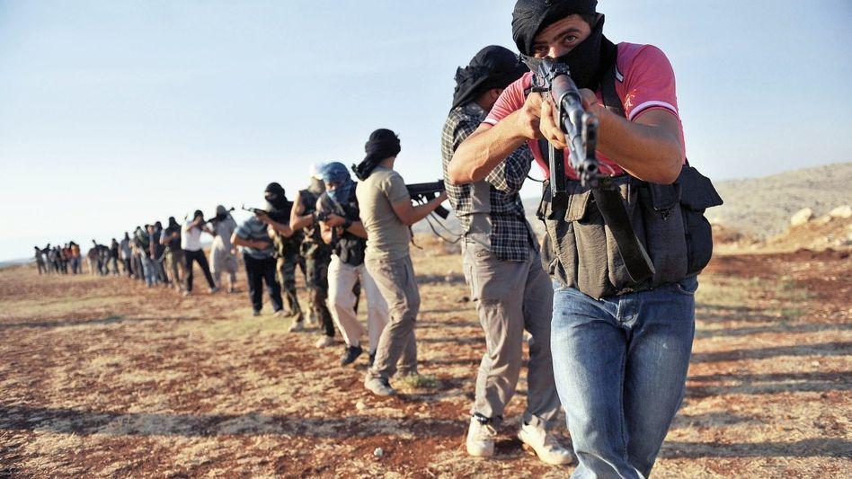 Islamisten bei Aleppo