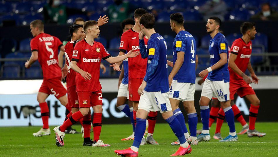 Leverkusen und Schalke trennten sich unentschieden