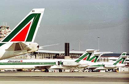 Alitalia-Maschinen: Aufruf zur Mäßigung