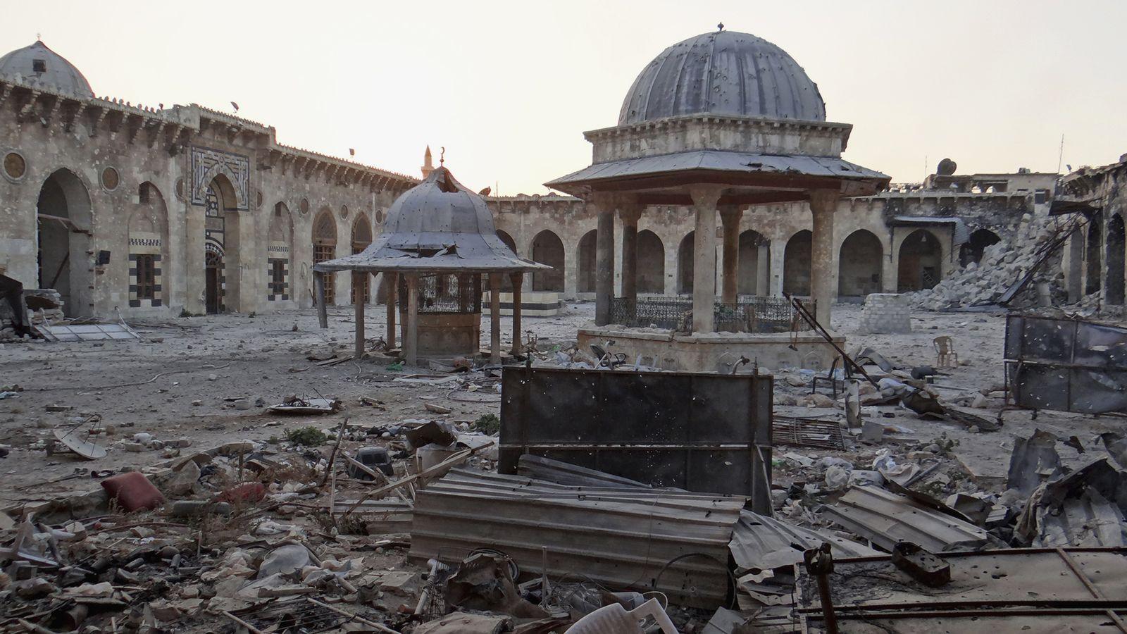 Syrien / Aleppo / Omayyaden-Moschee