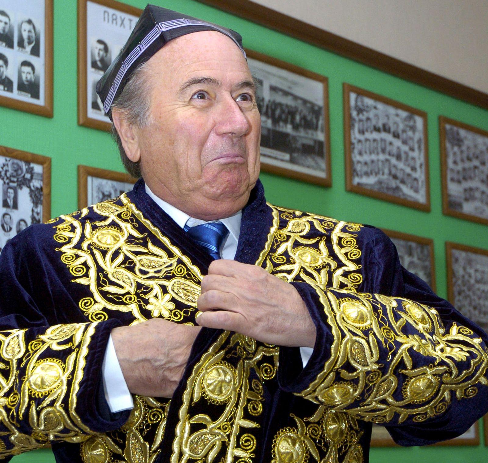 APTOPIX UZBEKISTAN FIFA SOCCER