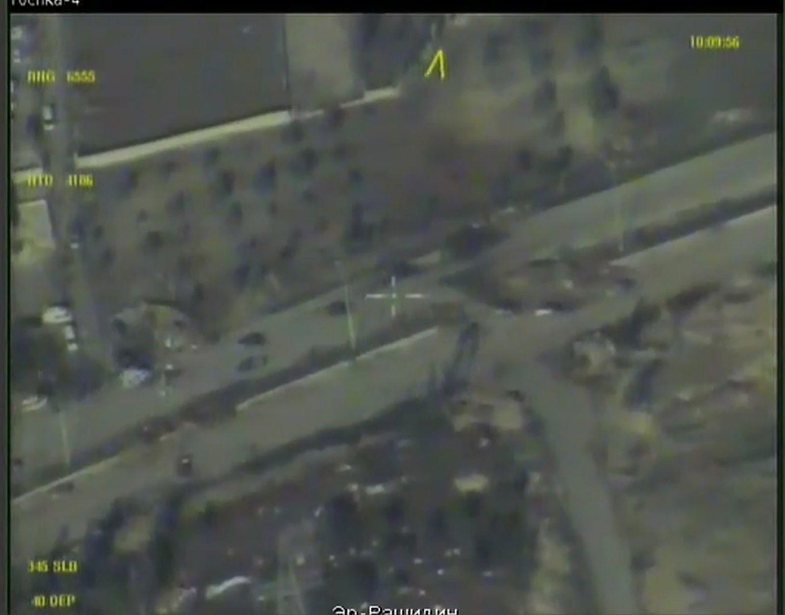 EINMALIGE VERWENDUNG NUR ALS ZITAT: Screenshot Aleppo