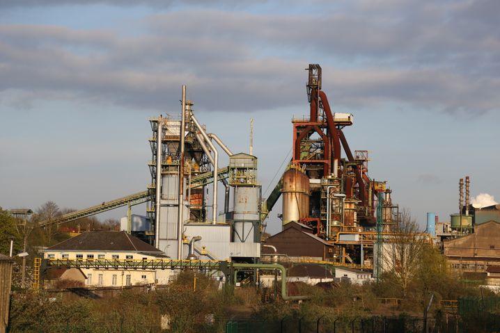Stahlfabrik in Hayange