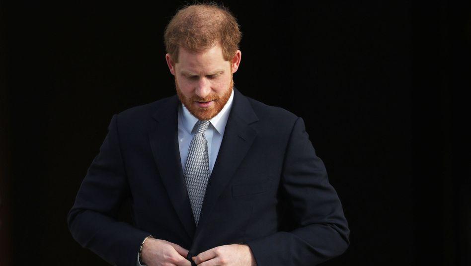 """Prinz Harry über Rückzug: """"Es macht mich sehr traurig, dass es so weit gekommen ist"""""""