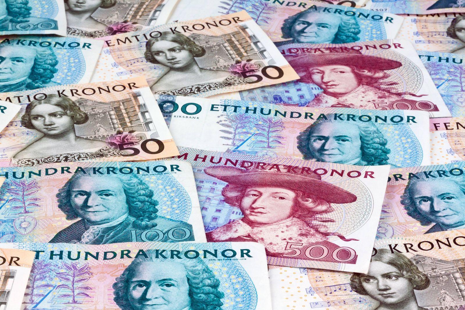 EINMALIGE VERWENDUNG Schwedische Kronen / bargeldloses Bezahlen in Schweden