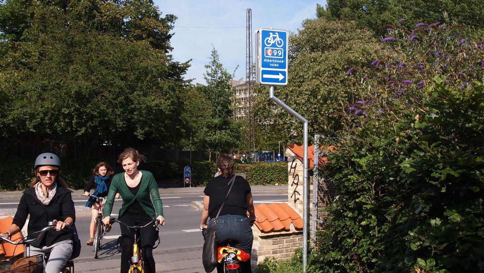 Schnell, gesund und öko: Kopenhagen baut seine Radwege aus
