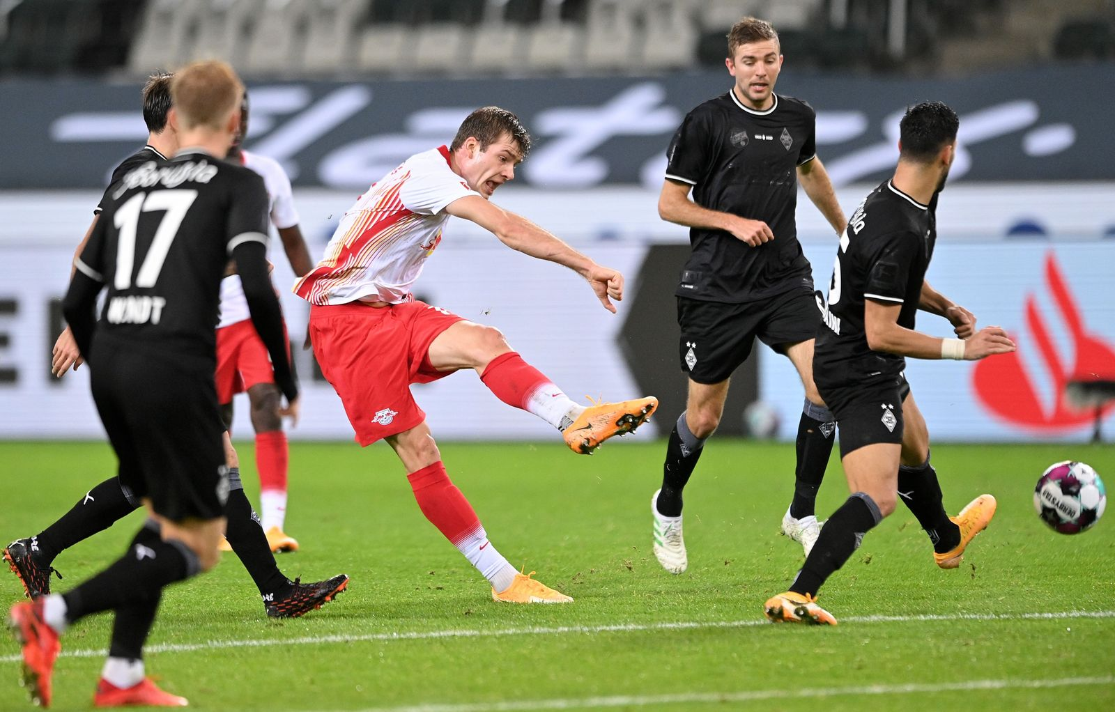 Borussia Moenchengladbach v RB Leipzig, Germany - 31 Oct 2020
