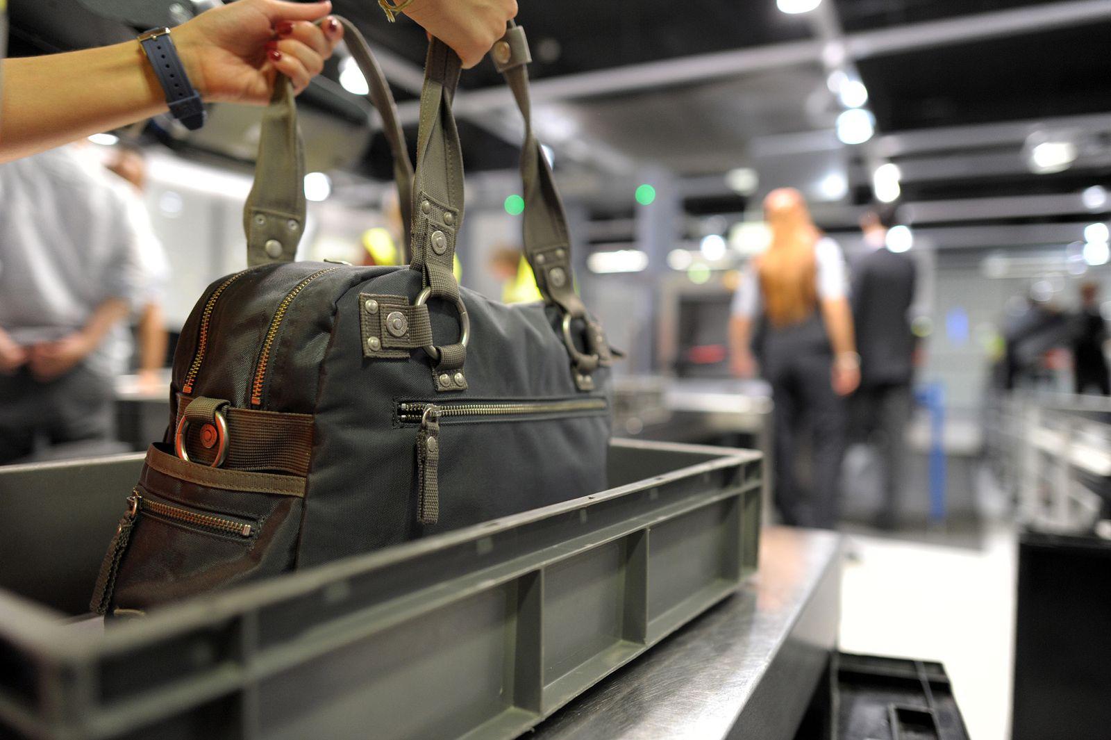 Handgepäck / Flughafen / Symbol