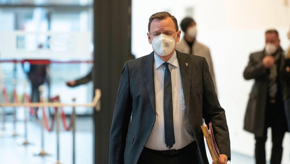 Thüringischer Ministerpräsident Ramelow: Hohe Infektionszahlen, geringe Disziplin