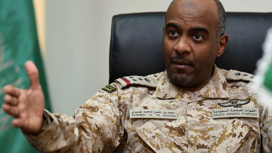 General Ahmad Asiri, Vize-Chef des saudi-arabischen Geheimdienstes