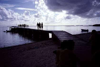 Inseln auf Zeit: Tokalau wird einmal vom Meer begraben werden
