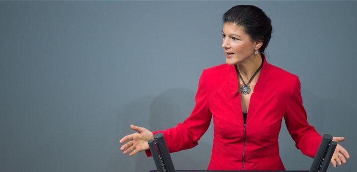 Linken-Fraktionschefin Sahra Wagenknecht