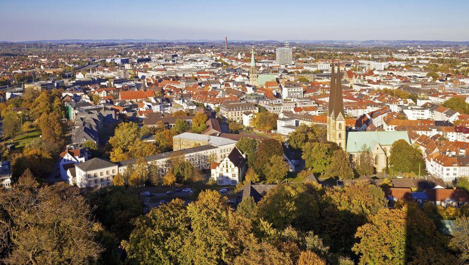 Auch Bielefeld in Ostwestfalen hat den Klimanotstand ausgerufen